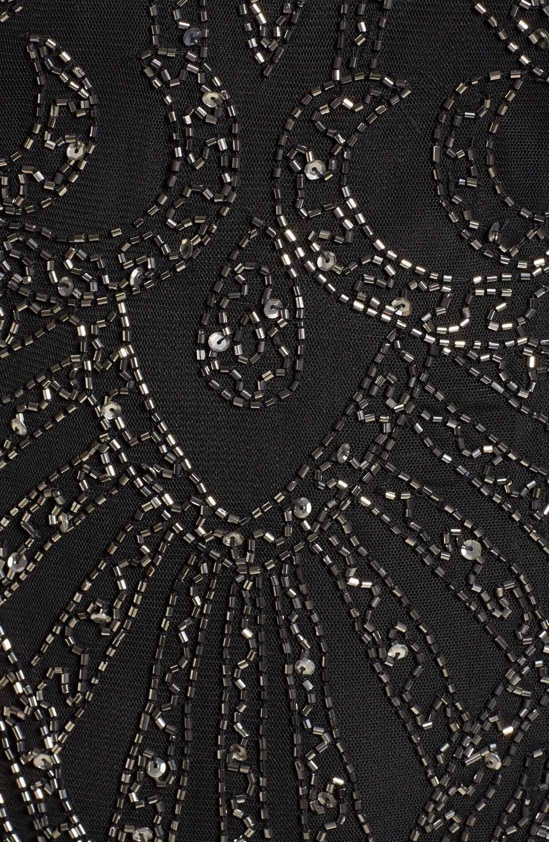 Alternate Image 5  - Lace & Beads 'Brooklyn' Embellished Long Sleeve Sheath Dress
