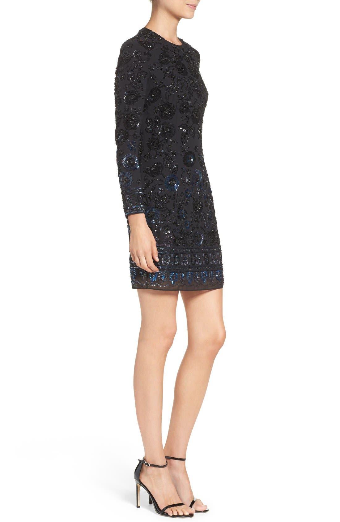 Alternate Image 3  - Needle & Thread Embellished Mesh Sheath Dress