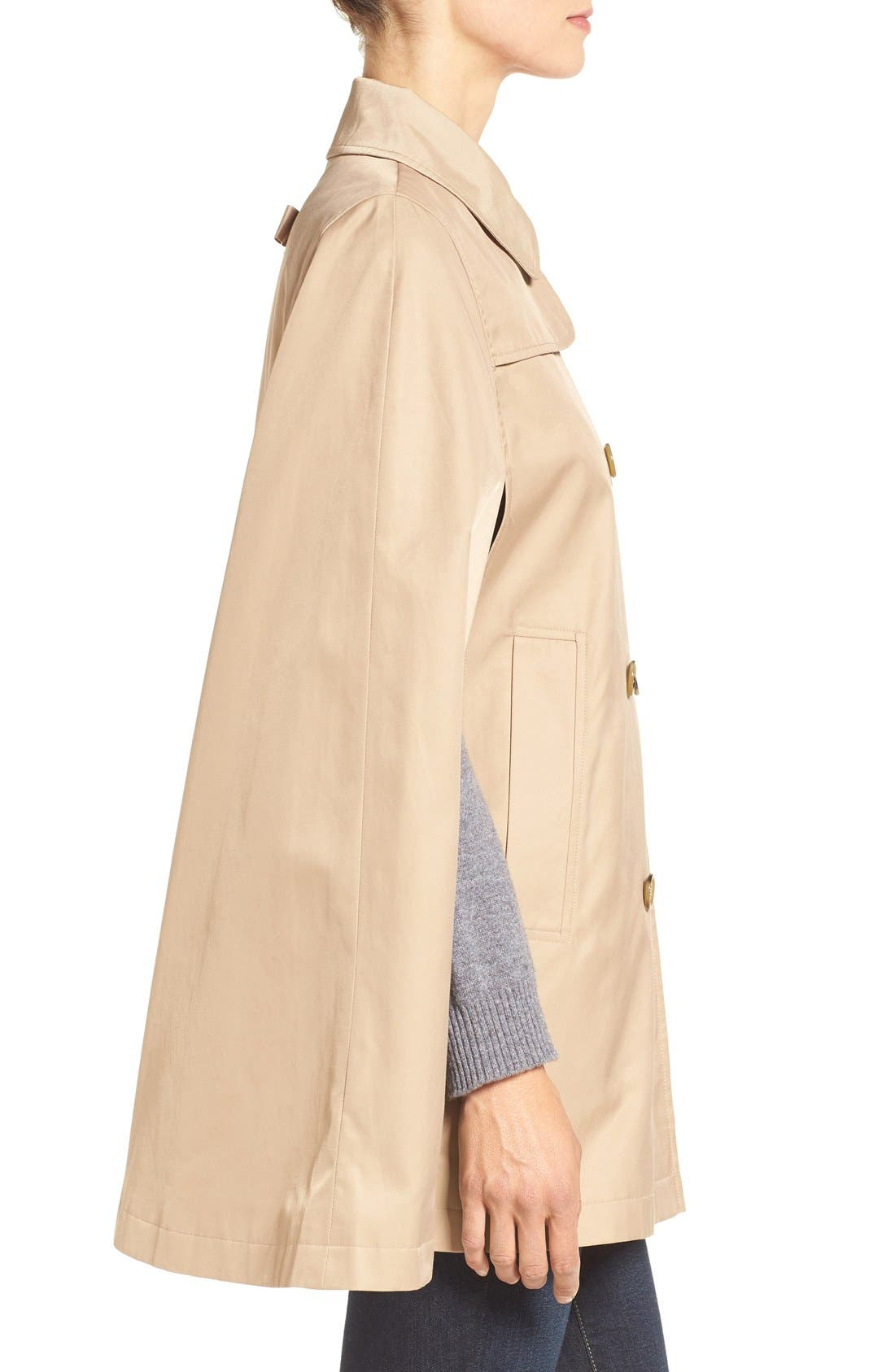 Alternate Image 3  - CeCe Lily Trench Cape