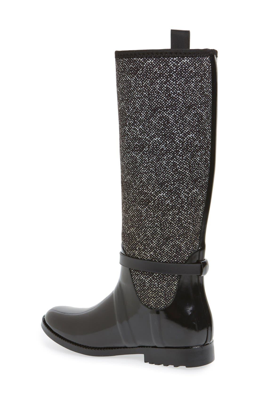 Alternate Image 2  - MICHAEL Michael Kors Charm Stretch Rain Boot (Women) (Nordstrom Exclusive)
