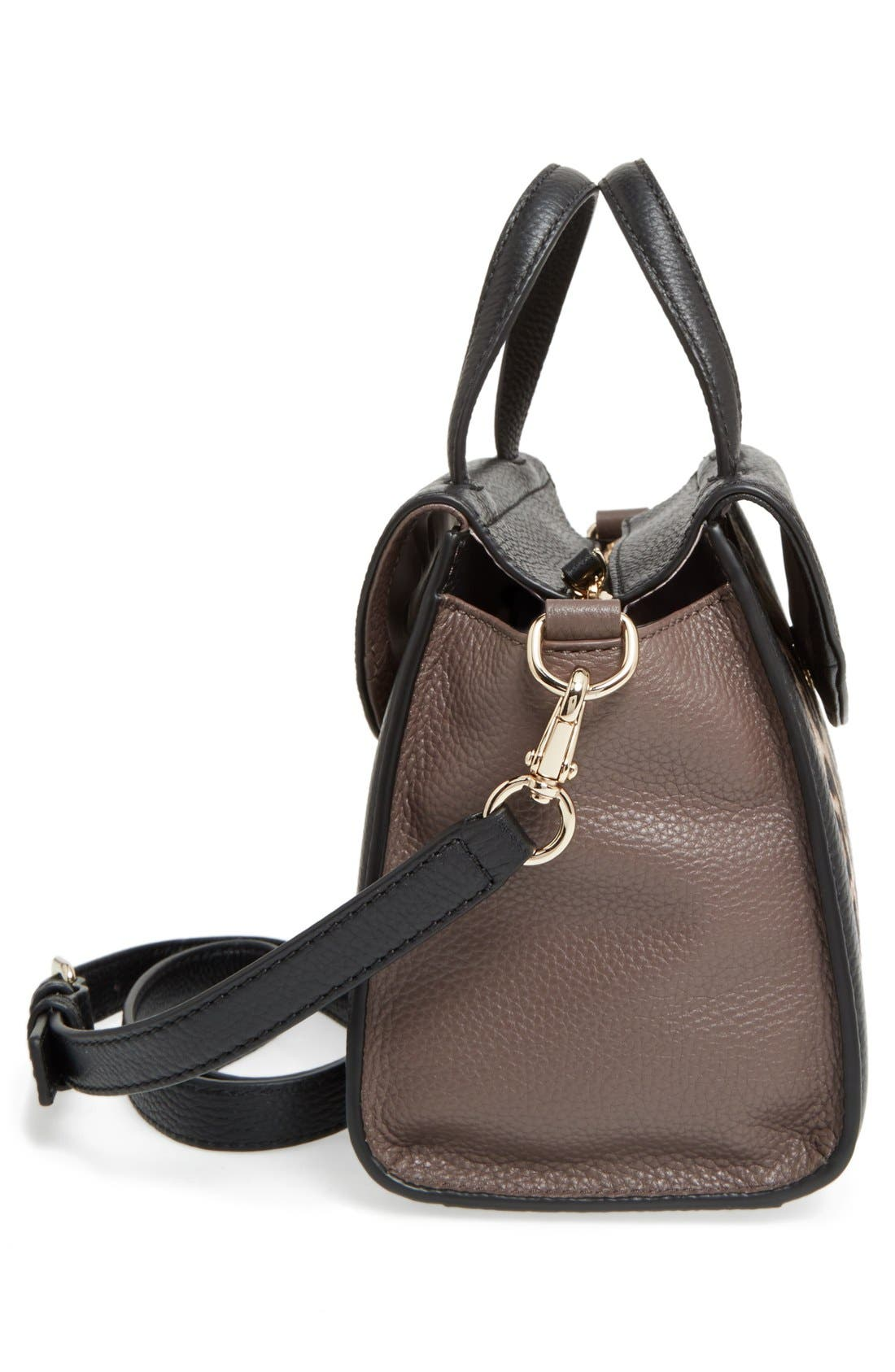 Alternate Image 4  - kate spade new york 'cobble hill - small adrien' genuine calf hair satchel