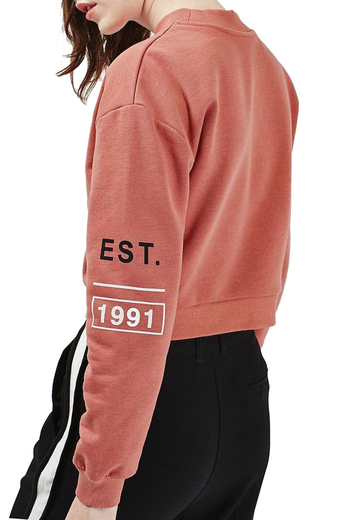 Alternate Image 3  - Topshop The End Sweatshirt