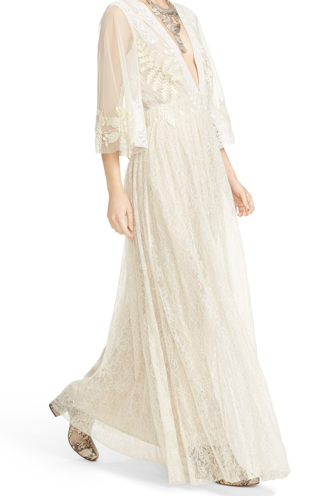 Alternate Image 5  - Free People Eclair Embroidered Maxi Dress