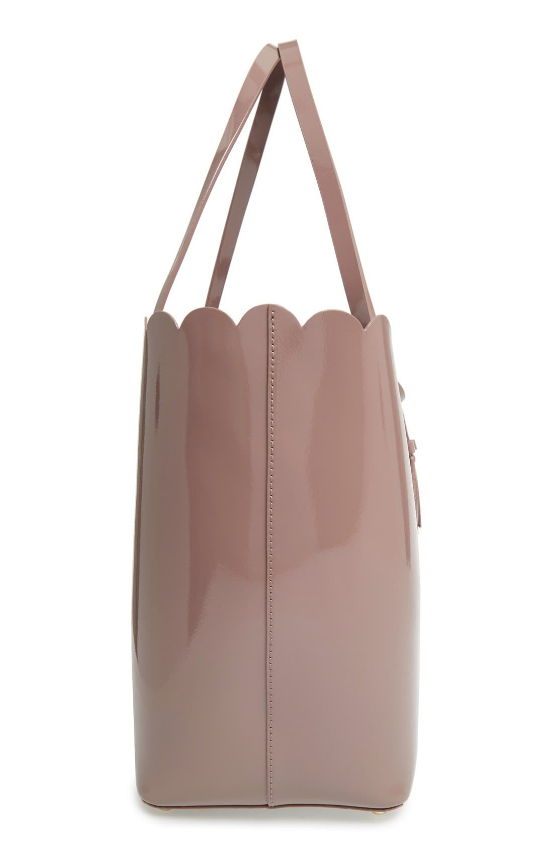 Alternate Image 3  - kate spade new york 'lily avenue patent - carrigan' leather tote