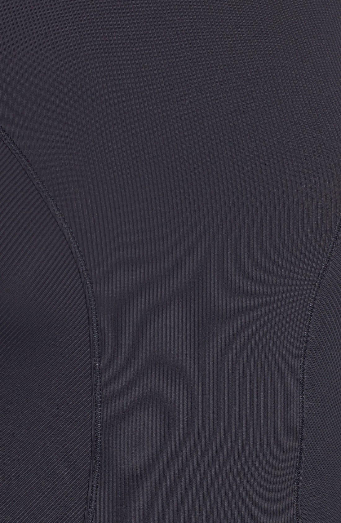 Alternate Image 6  - IVY PARK® Elastic Logo Sleeve Bodysuit