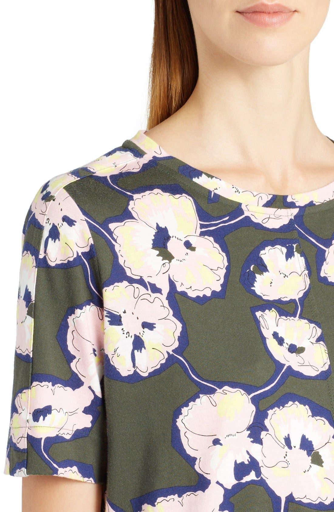 Alternate Image 5  - Marni Whisper Print Cotton Jersey Tee