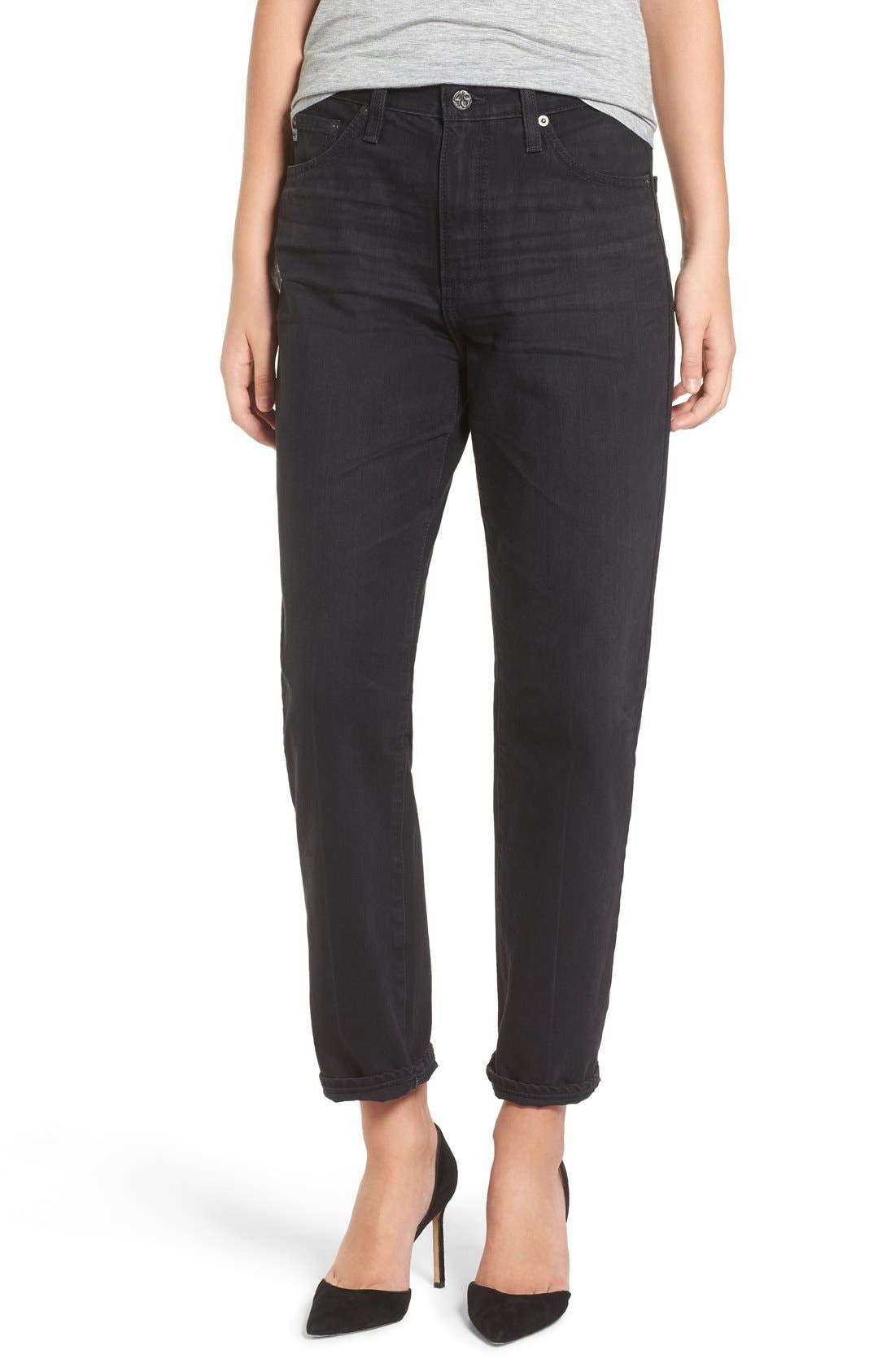 AG Phoebe High Waist Straight Leg Jeans