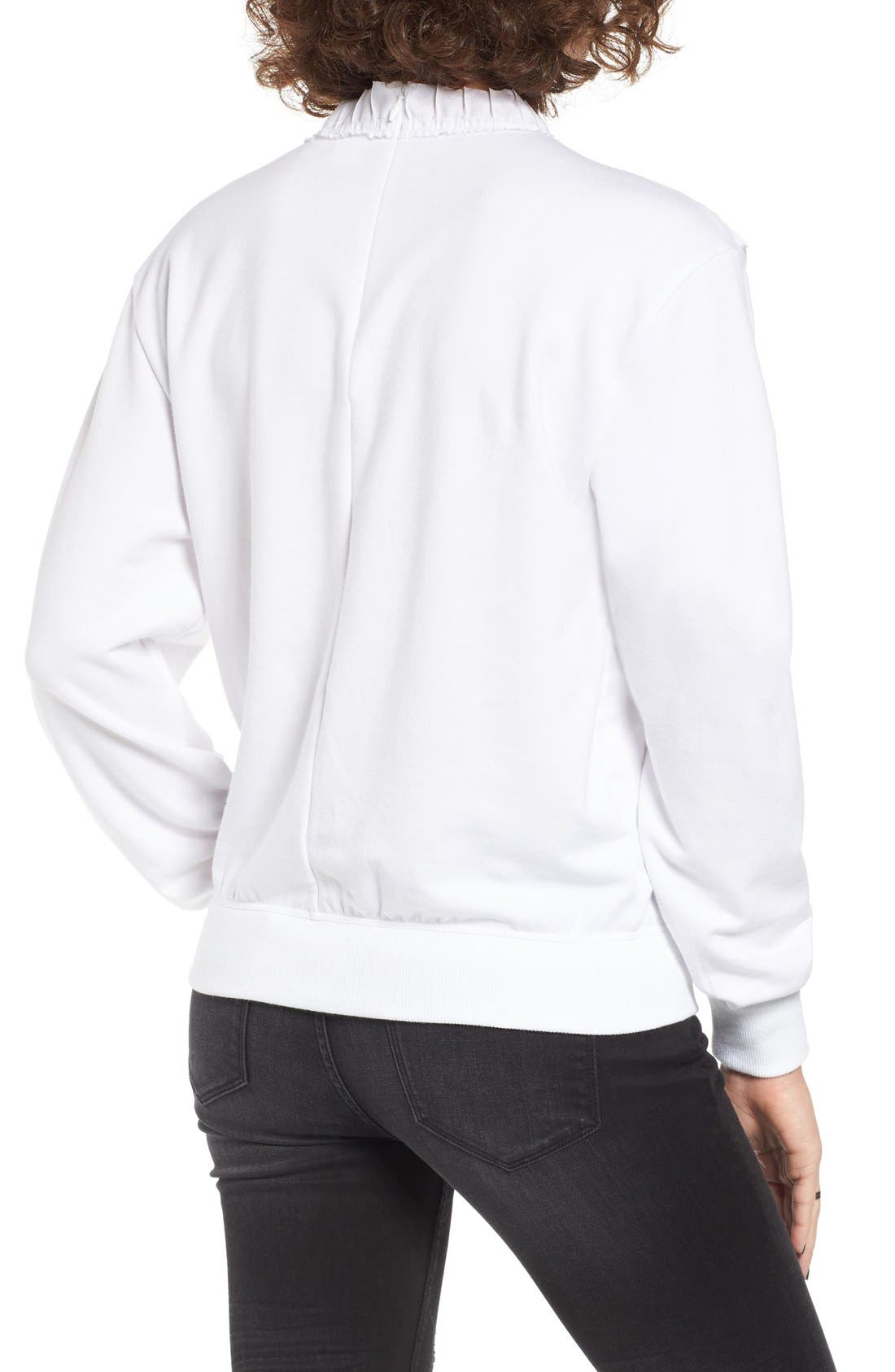 Alternate Image 2  - BP. Ruffle Front Sweatshirt