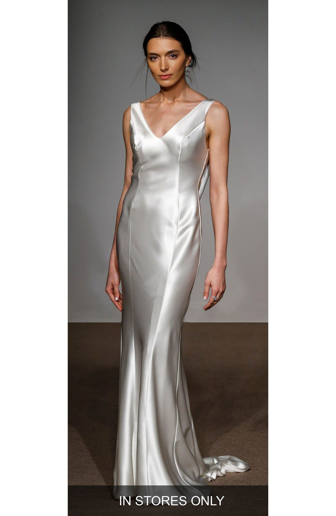 Anna Maier Couture Rita Silk Column Gown (In Stores Only)