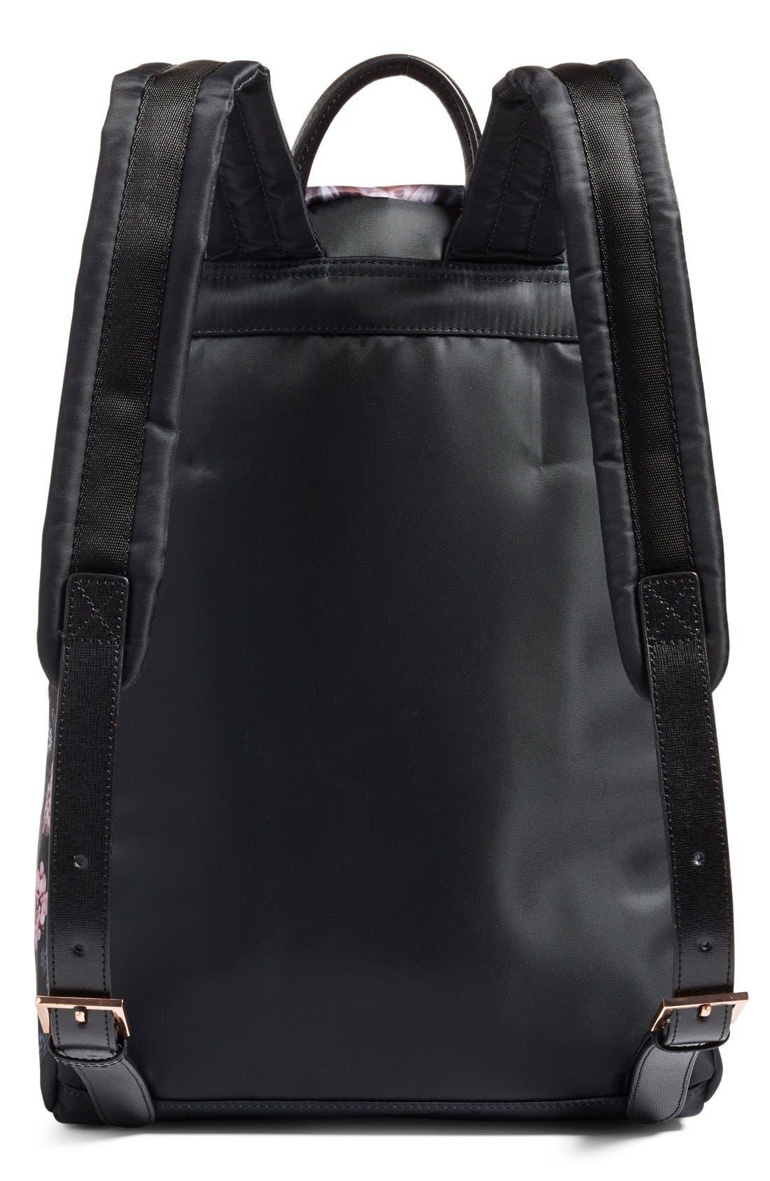 Alternate Image 3  - Ted Baker London Dynamic Butterfly Print Backpack