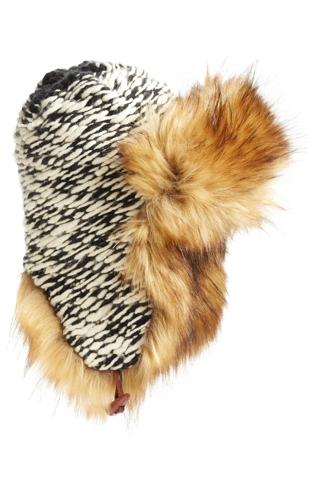 Alternate Image 1 Selected - Free People Wild Things Faux Fur Trapper Hat