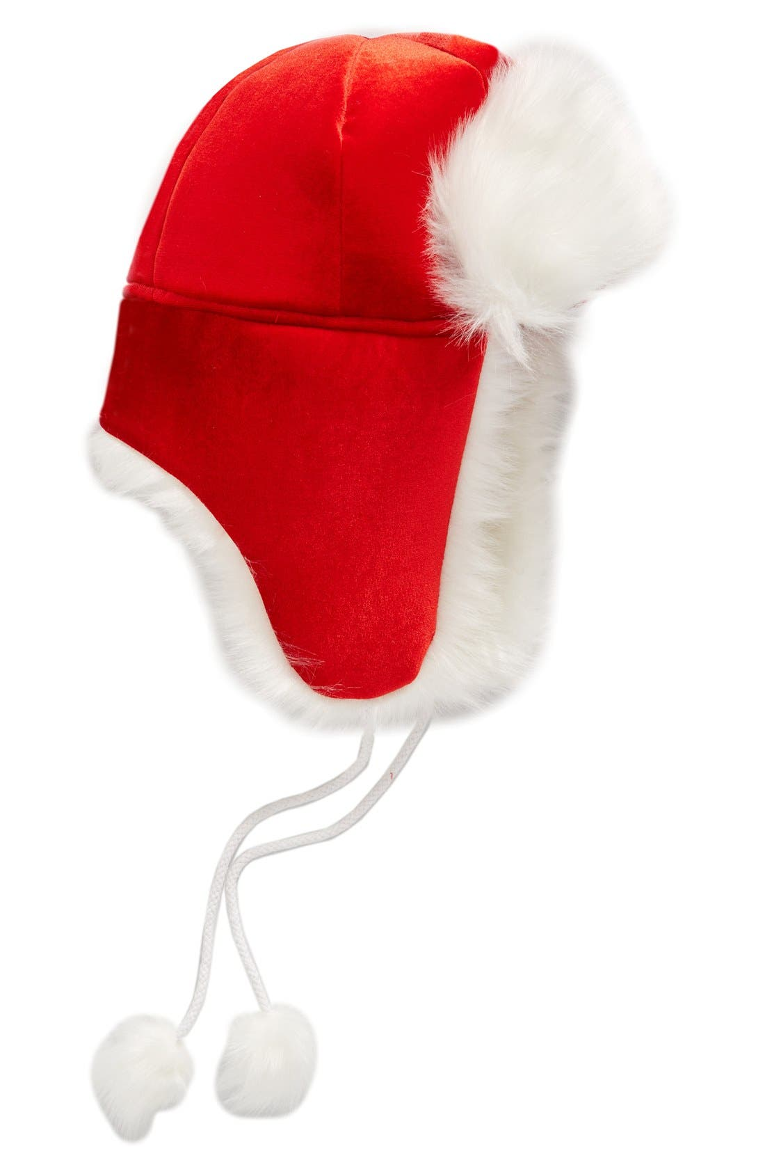 Main Image - Collection XIIX Santa Trapper Hat with Faux Fur Trim