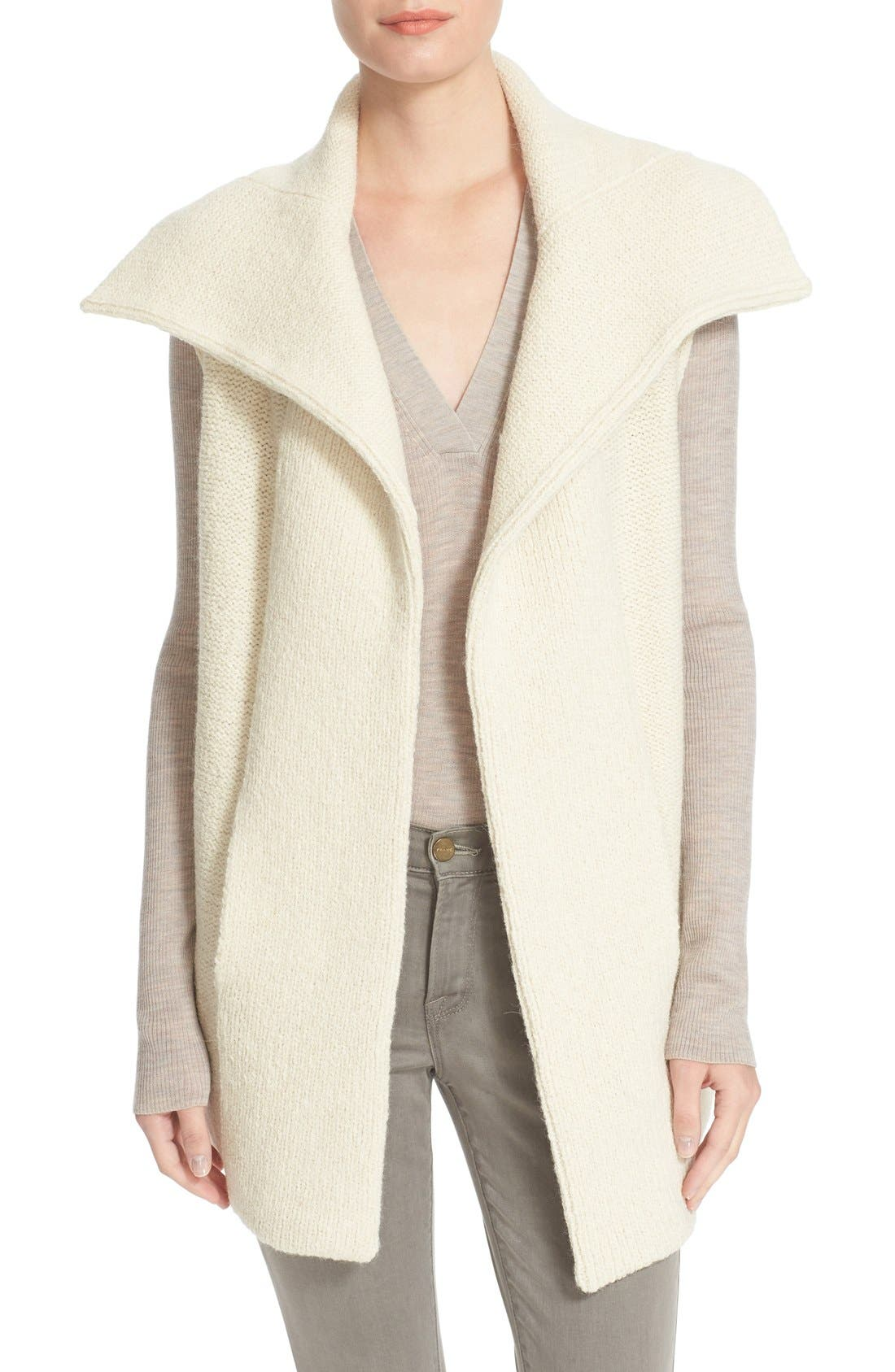 Alternate Image 1 Selected - BrochuWalker 'Oak' Alpaca Blend SweaterVest