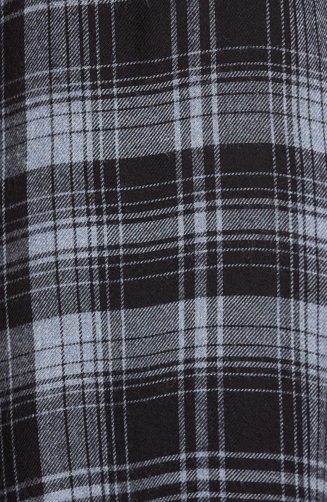 Alternate Image 5  - Side Stitch Plaid Shirt