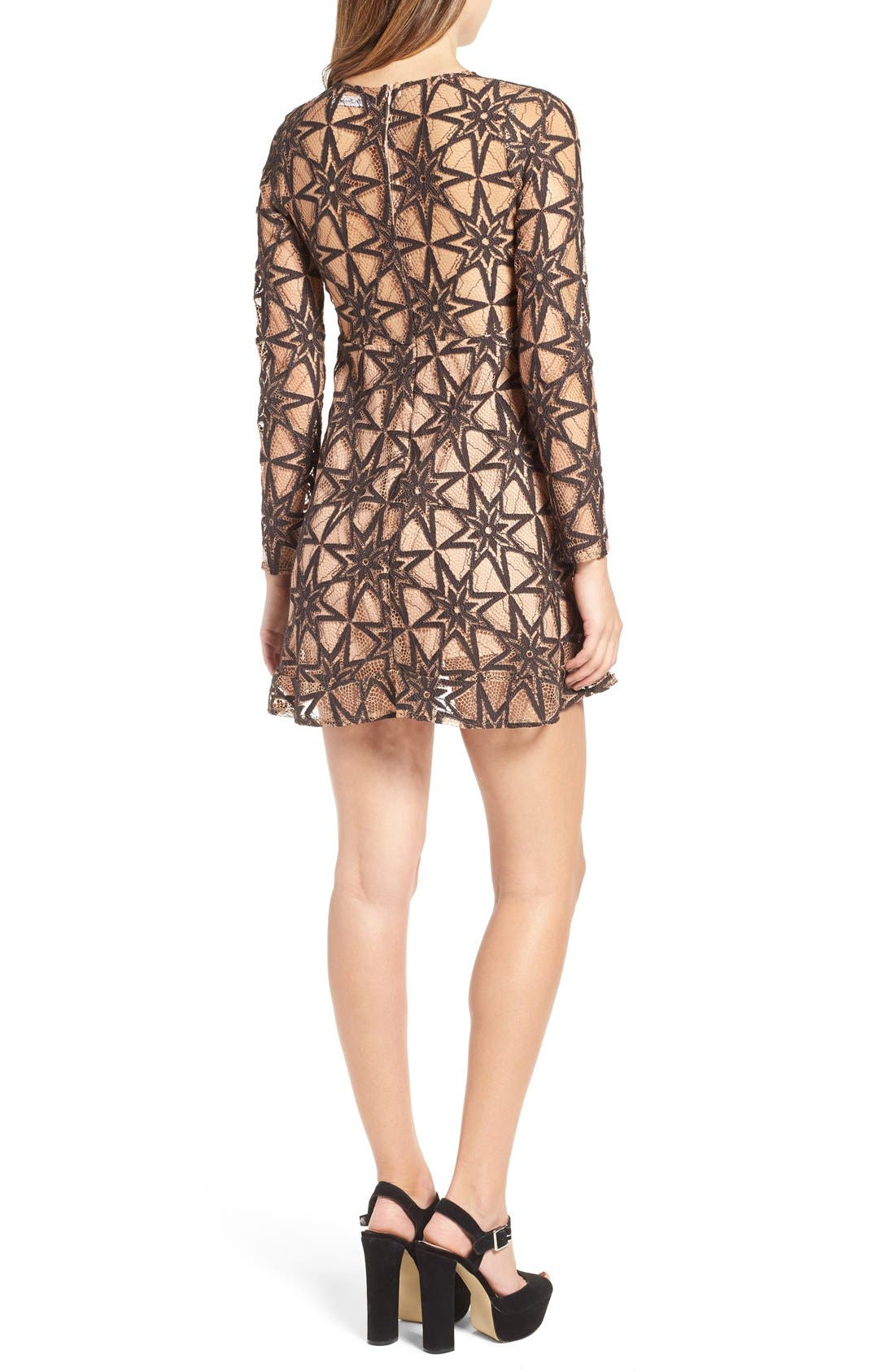 Alternate Image 2  - For Love & Lemons Metz Party Dress