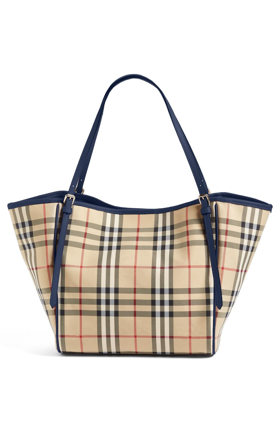 Alternate Image 3  - Burberry Small Canter Horseferry Check Tote