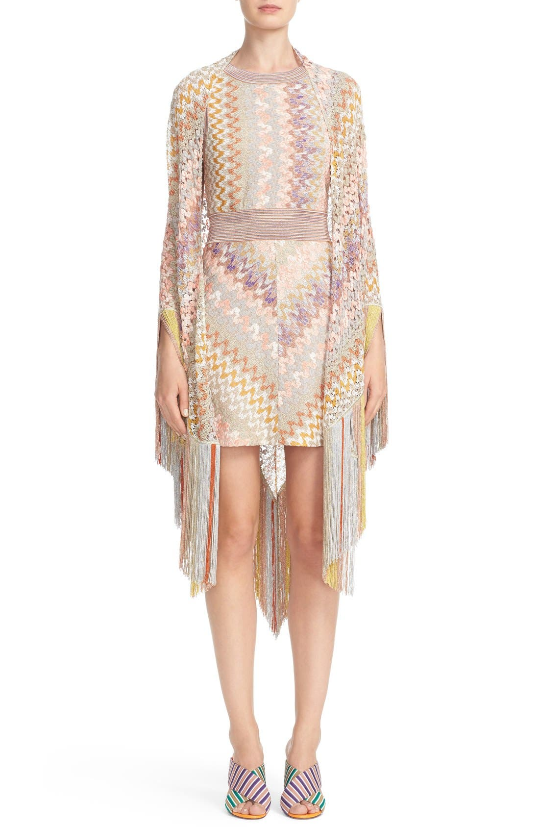 Alternate Image 7  - Missoni Metallic Knit Dress