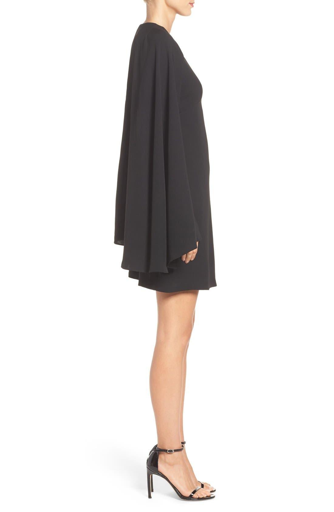 Alternate Image 3  - Olivia Palermo + Chelsea28 Cape Dress