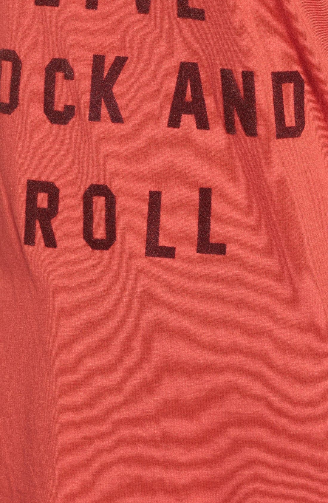 Alternate Image 5  - Obey Long Live Rock & Roll Graphic Tee