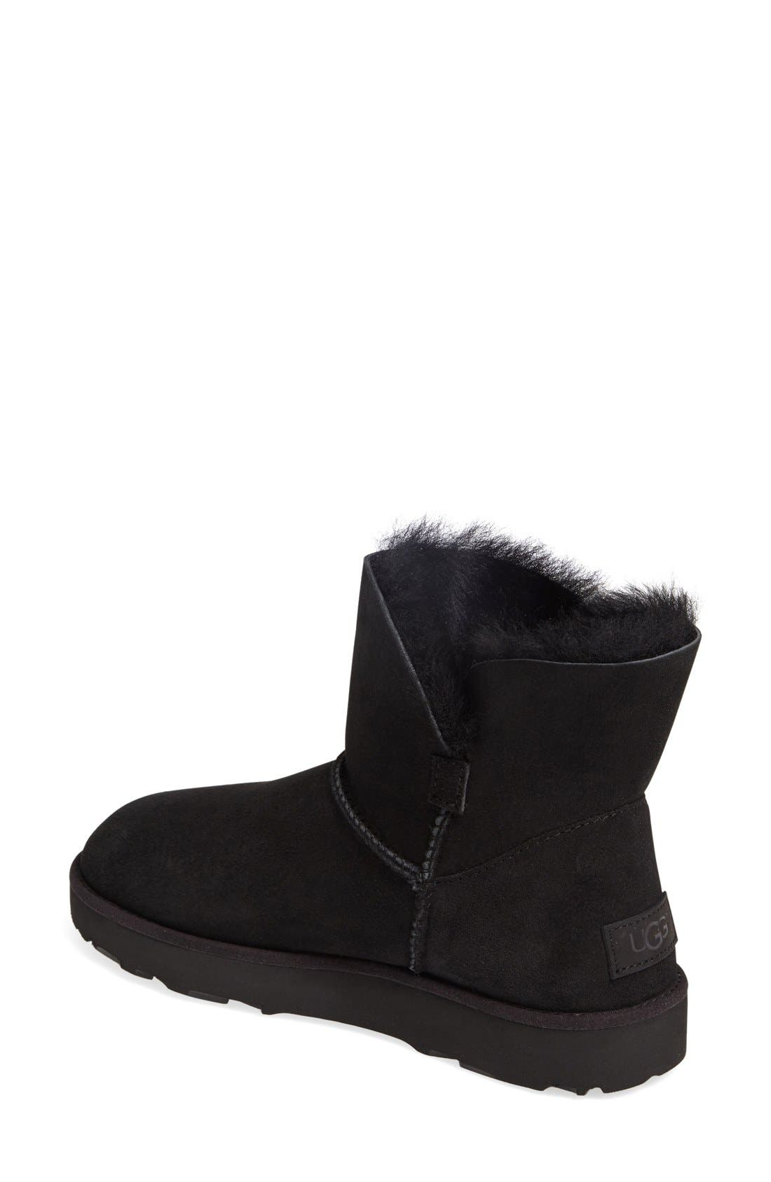 Alternate Image 2  - UGG® Classic Cuff Mini Boot (Women)