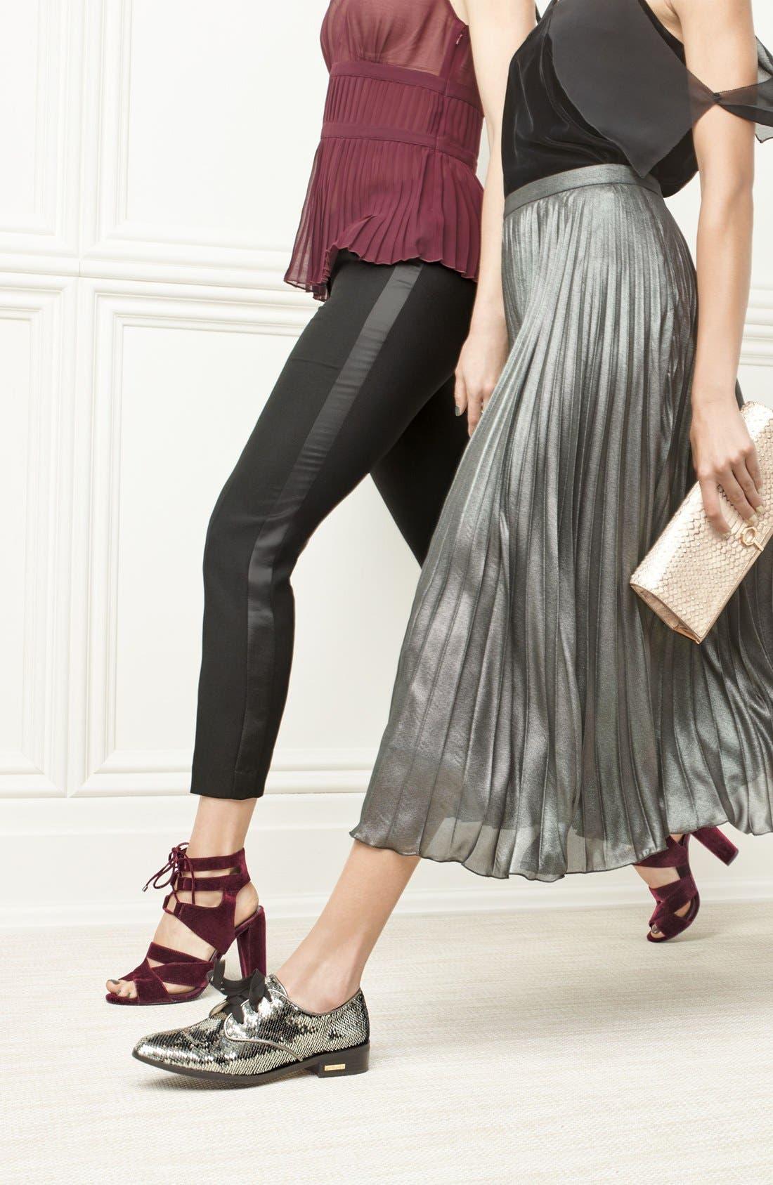 Alternate Image 5  - Halogen® Lani Strappy Lace-Up Sandal (Women)