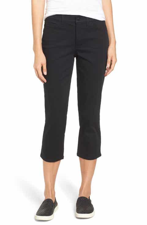 NYDJ Alina Stretch Capri Pants (Regular   Petite)