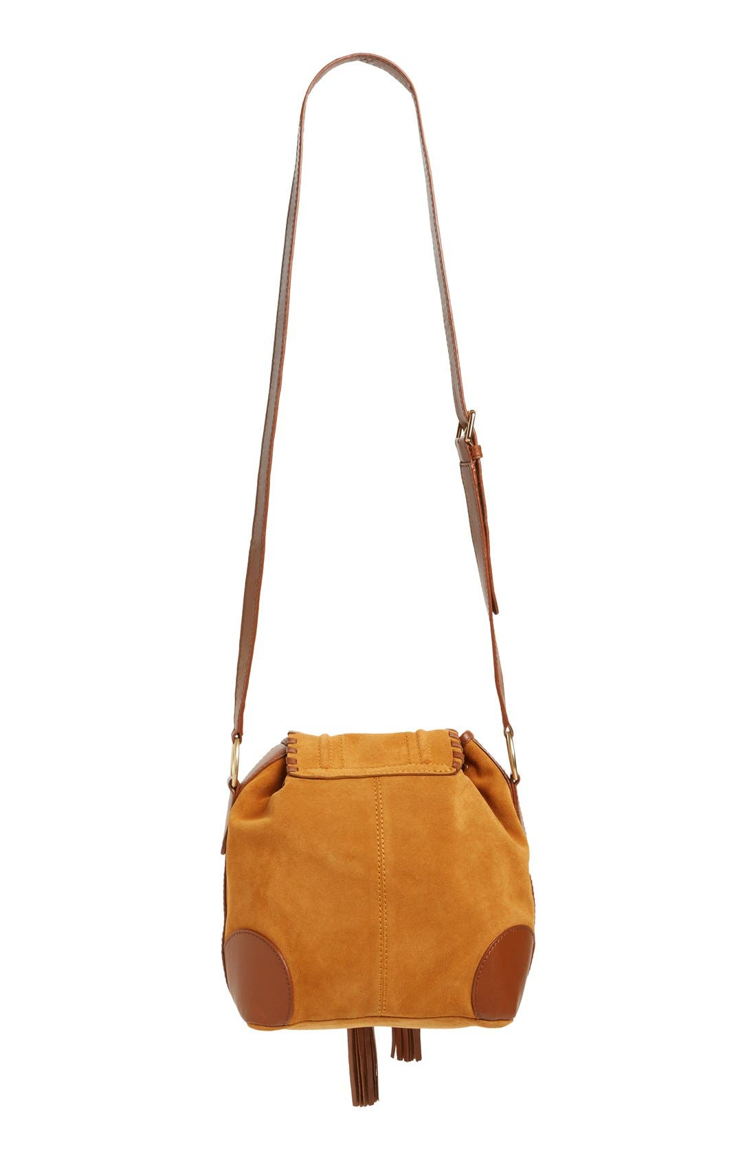 Alternate Image 3  - See by Chloé Small Polly Leather Bucket Bag