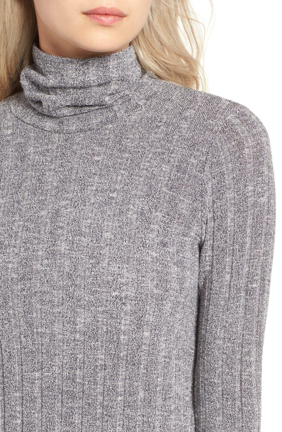 Alternate Image 4  - O'Neill 'Jovana' Mock Neck Shift Dress