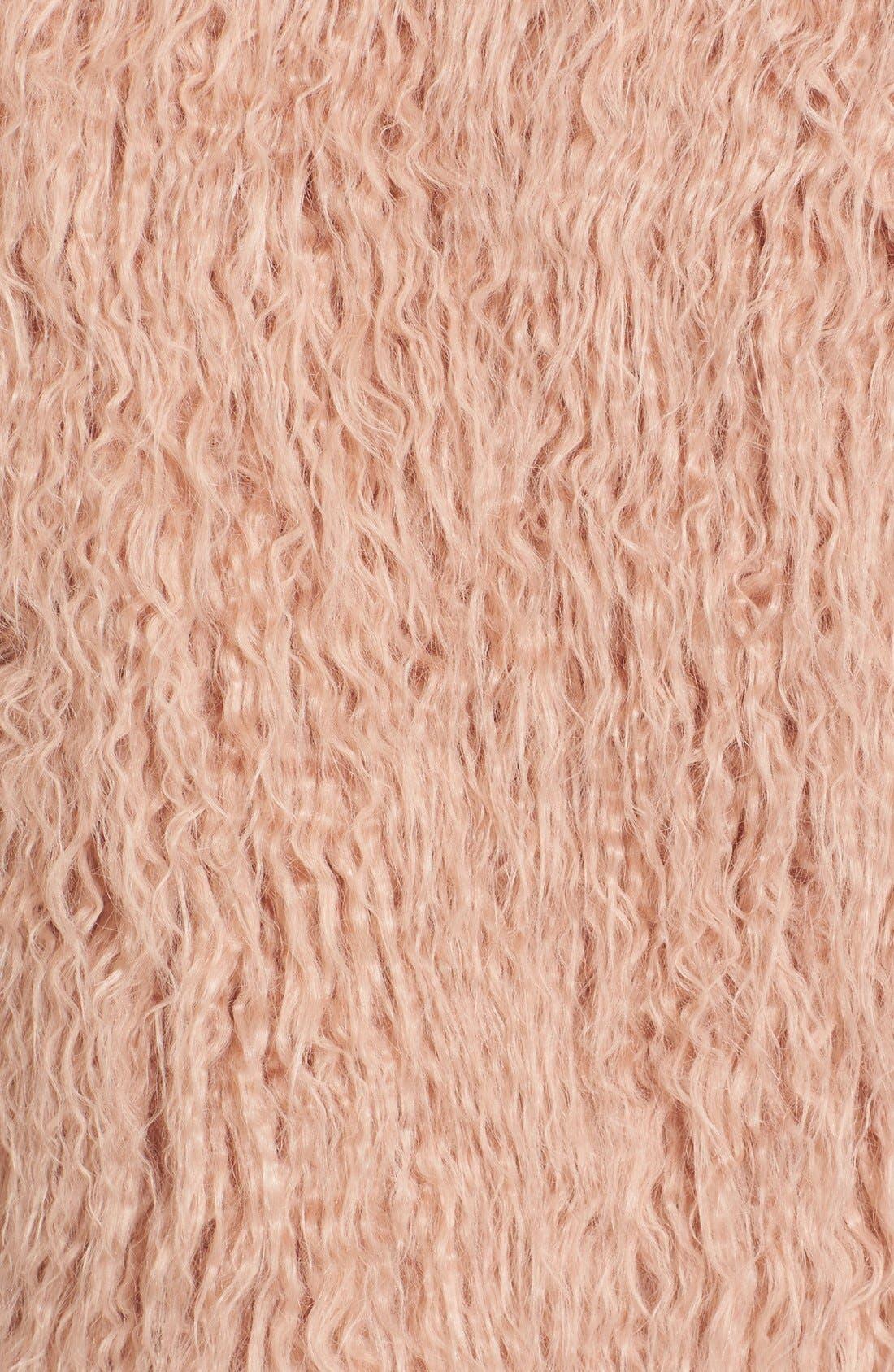 Alternate Image 6  - Theory Elstana 2 Faux Fur Crop Jacket