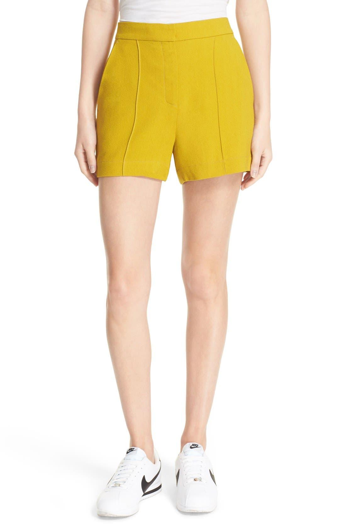 A.L.C. Cohen High Waist Shorts