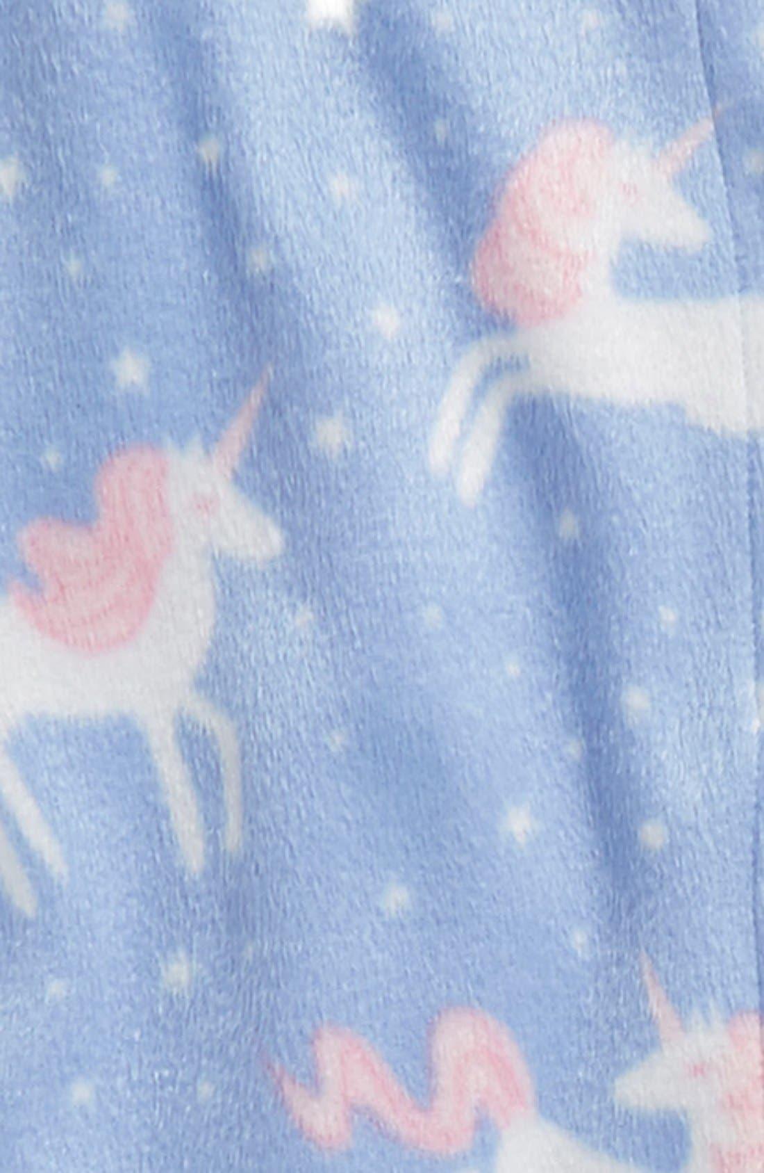 Alternate Image 3  - PJ Salvage Unicorn Two-Piece Pajamas (Little Girls & Big Girls)