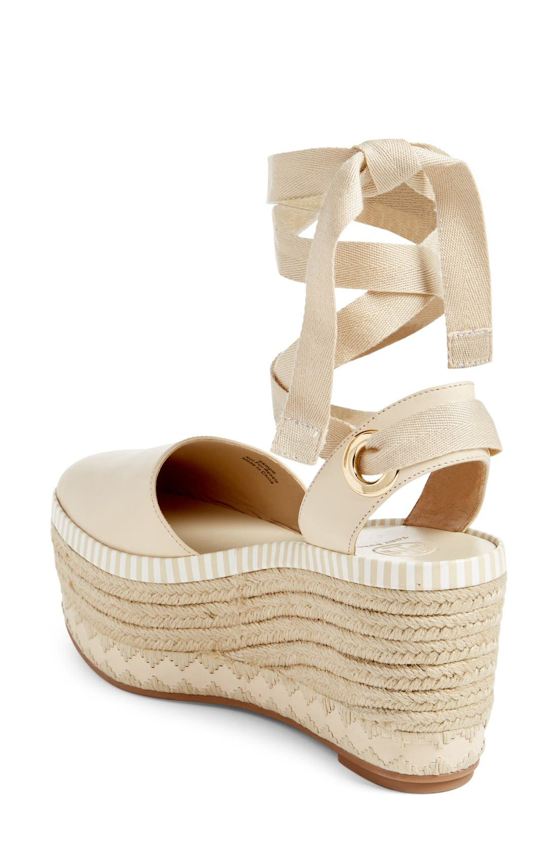 Alternate Image 2  - Tory Burch Dandy Platform Espadrille (Women)