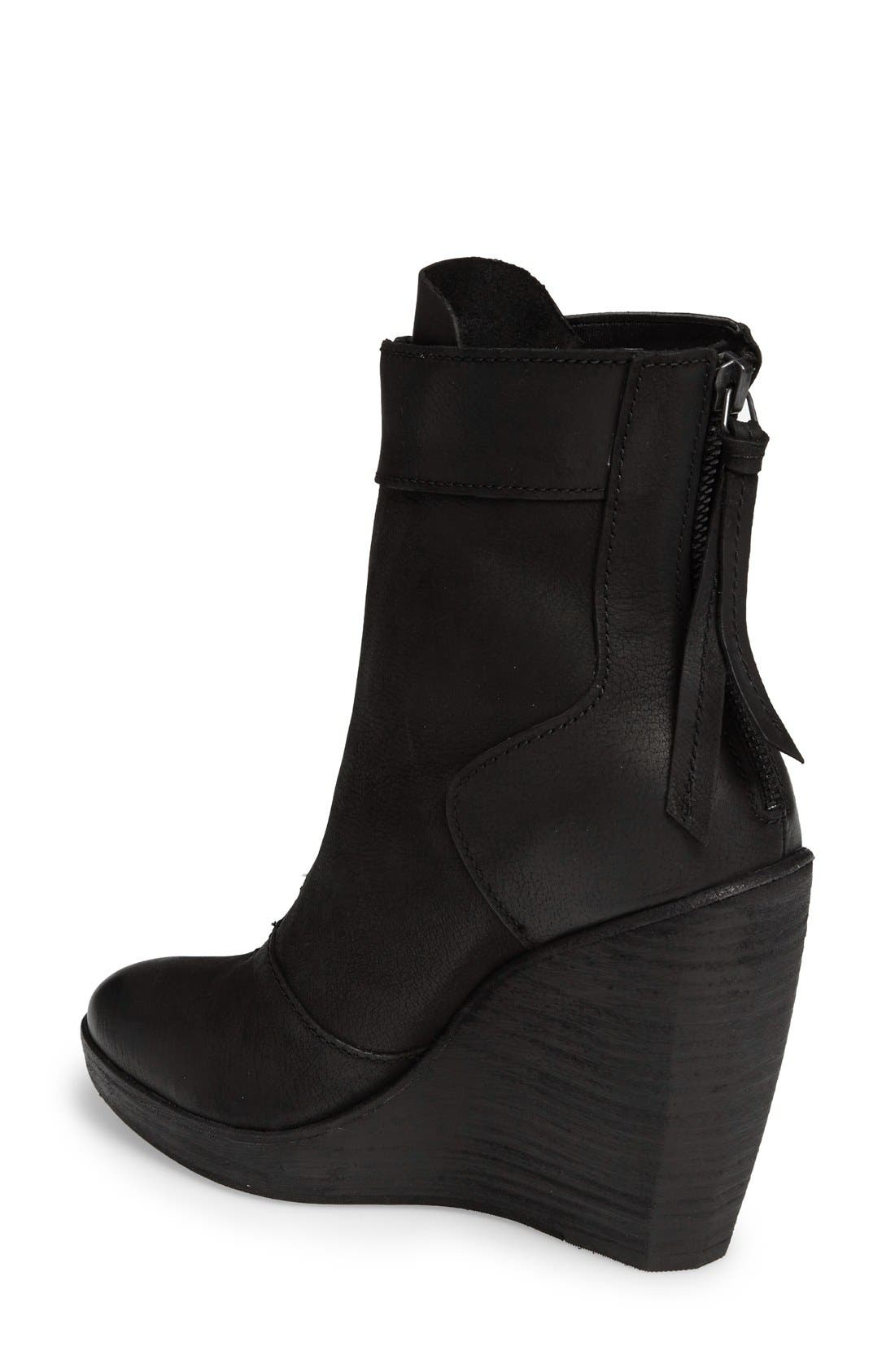 Alternate Image 2  - Dolce Vita Caden Zip Wedge Bootie (Women)