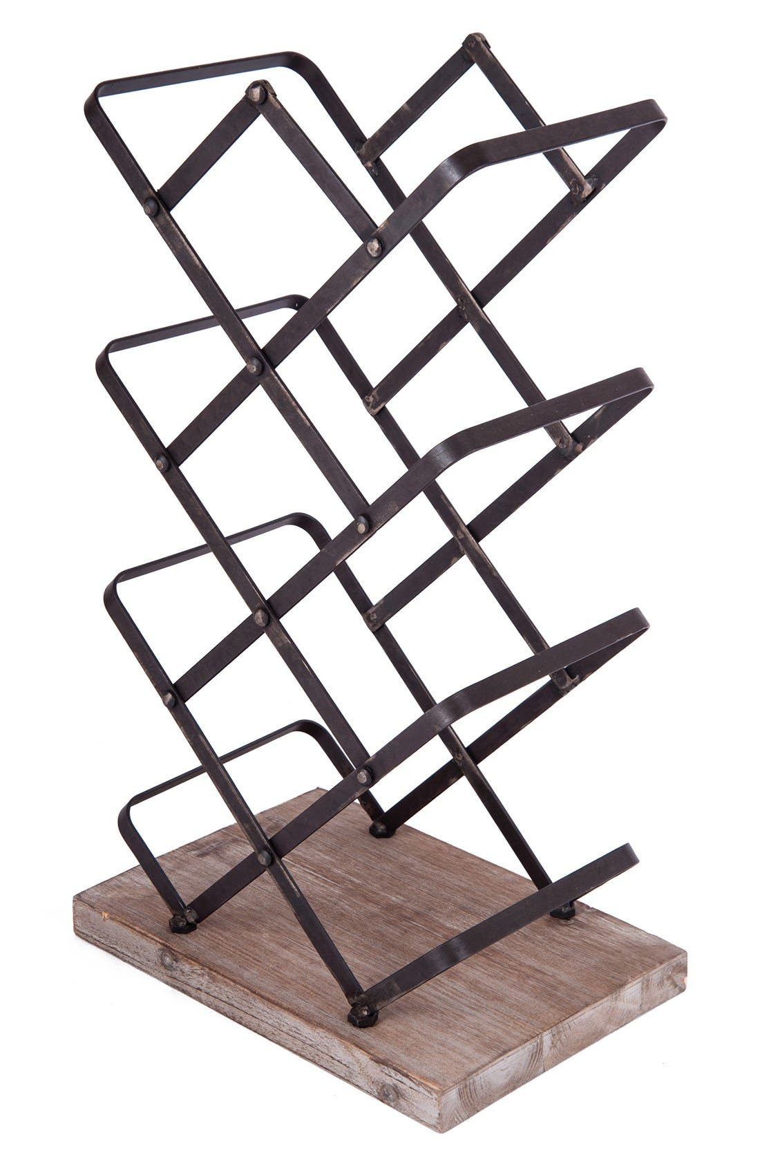 Alternate Image 1 Selected - Foreside Ashville Tabletop Wine Holder
