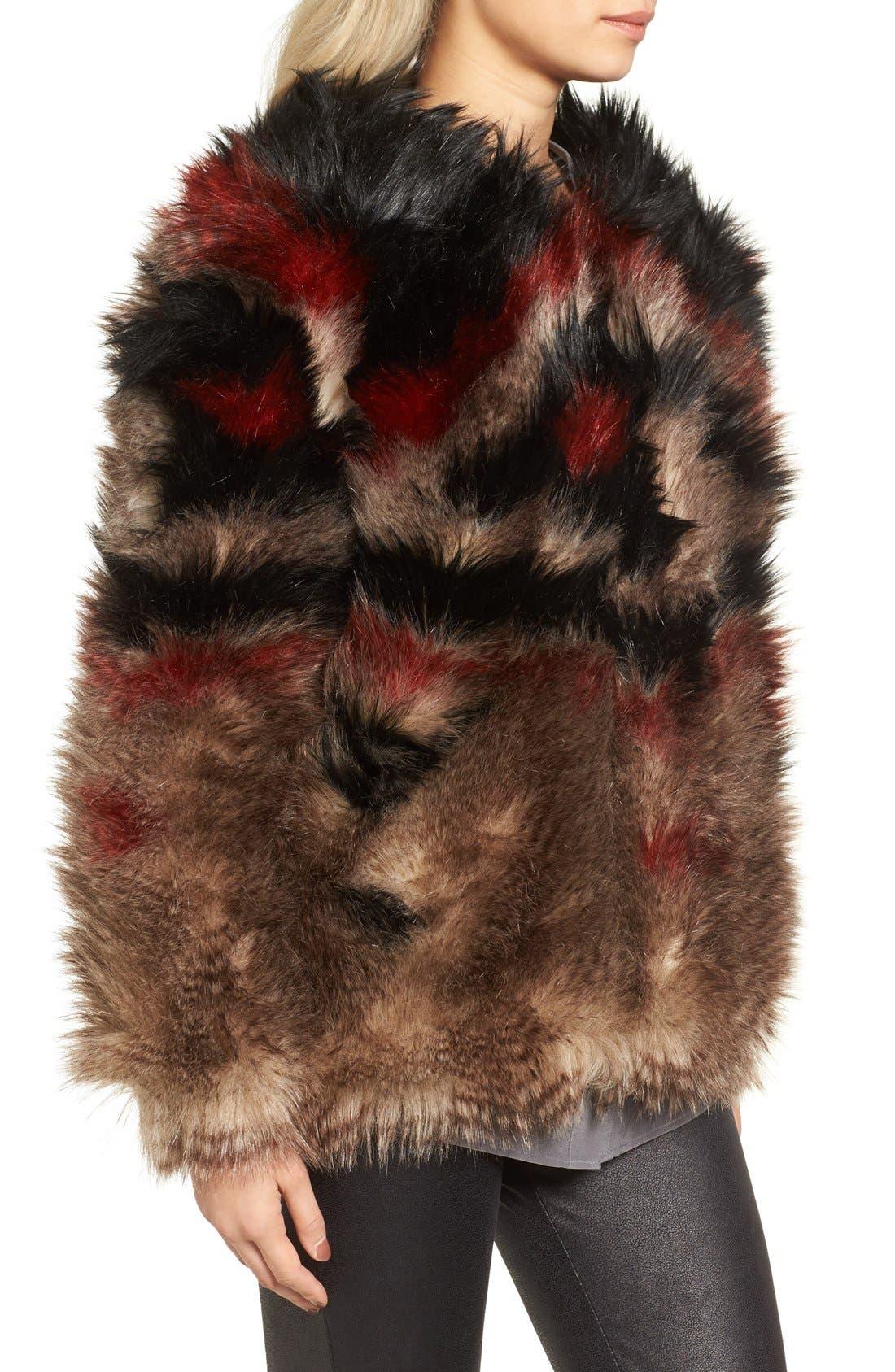 Alternate Image 3  - Free People Scarlet Faux Fur Jacket