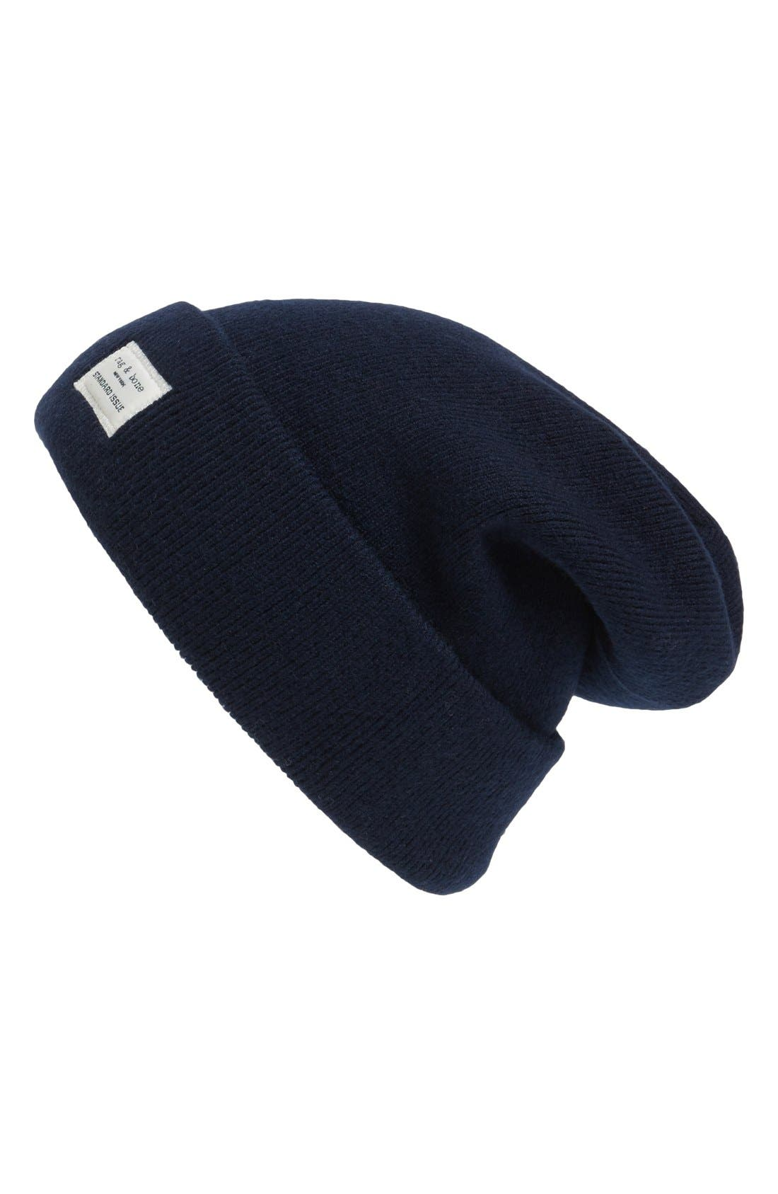 RAG & BONE Standard Issue Stretch Wool Beanie at Nordstrom
