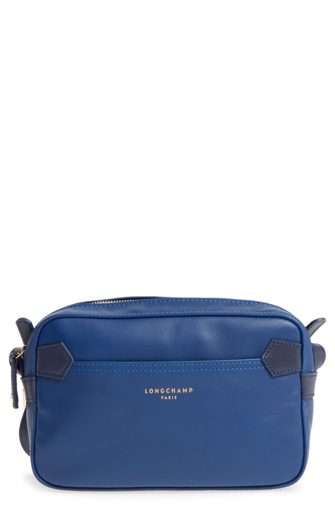 Alternate Image 1 Selected - Longchamp '2.0' Two-Tone Leather Crossbody Bag