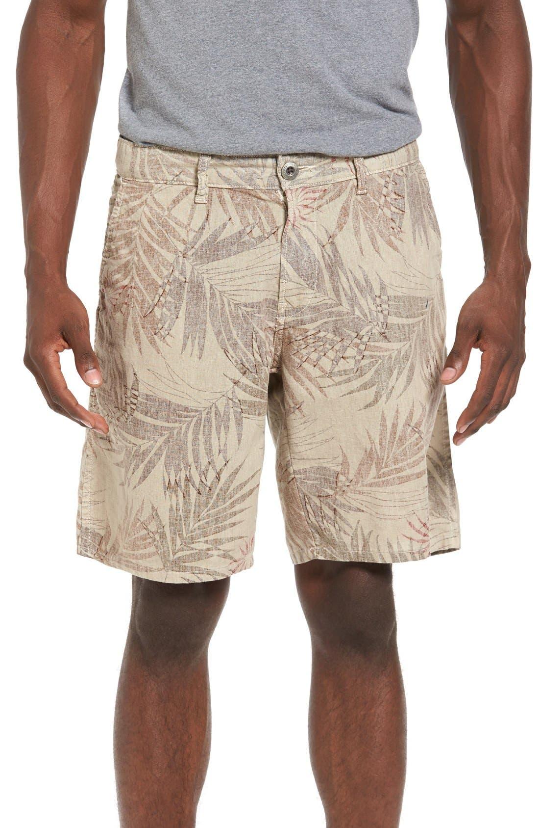Original Paperbacks Rio Linen Shorts