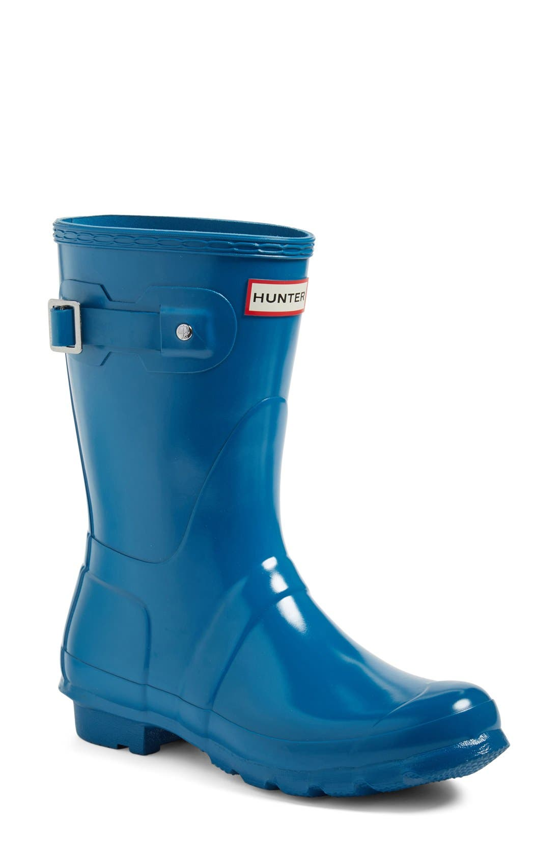 Main Image - Hunter 'Original Short' Gloss Rain Boot (Women)