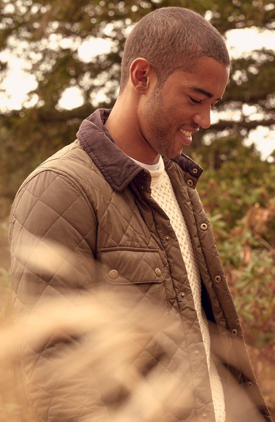 Alternate Image 8  - Barbour 'Akenside' Quilted Jacket