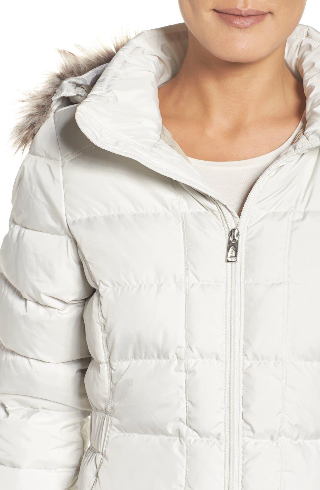 Alternate Image 4  - The North Face 'Gotham' Faux Fur Trim Down Jacket