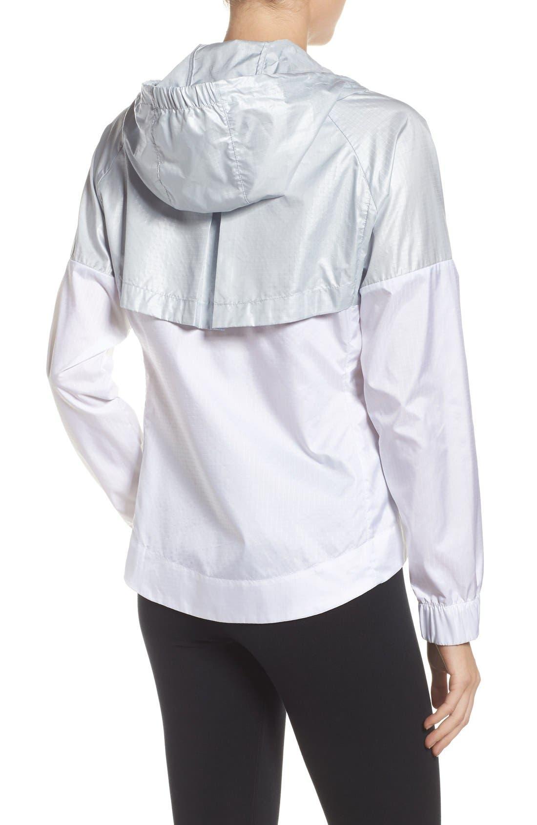 Alternate Image 2  - Nike 'Windrunner' Hooded Windbreaker