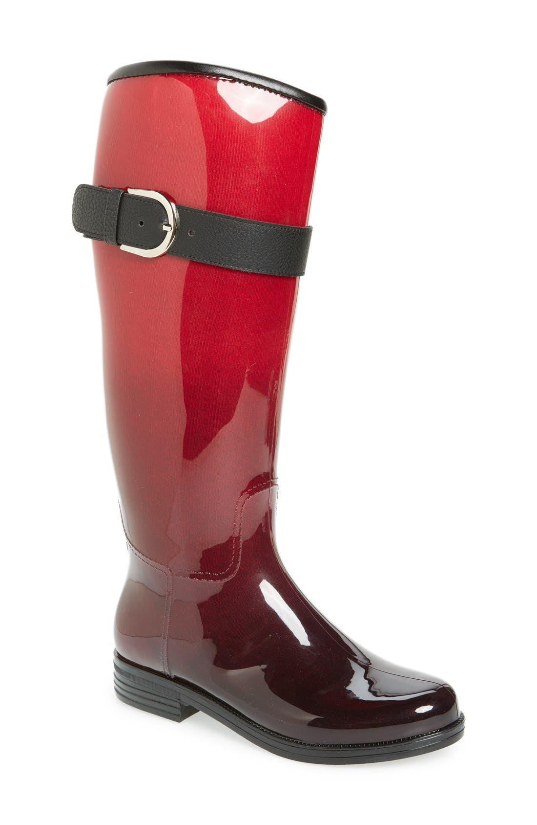 Alternate Image 1 Selected - däv 'Bristol' Weatherproof Knee High Rain Boot (Women)