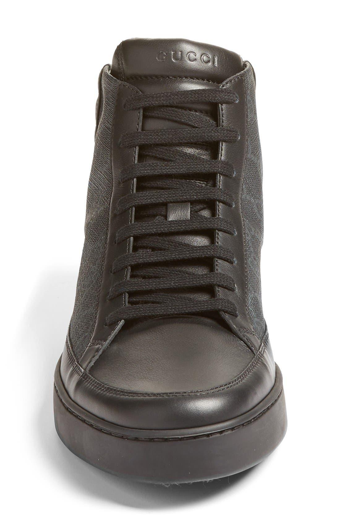 Alternate Image 4  - Gucci 'Common' High Top Sneaker (Men)