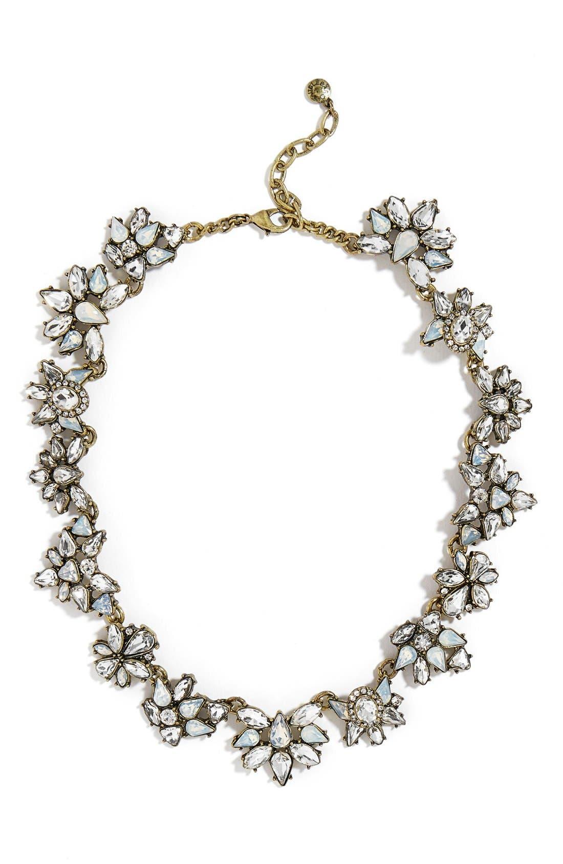 Alternate Image 1 Selected - BaubleBar Araz Crystal Collar Necklace