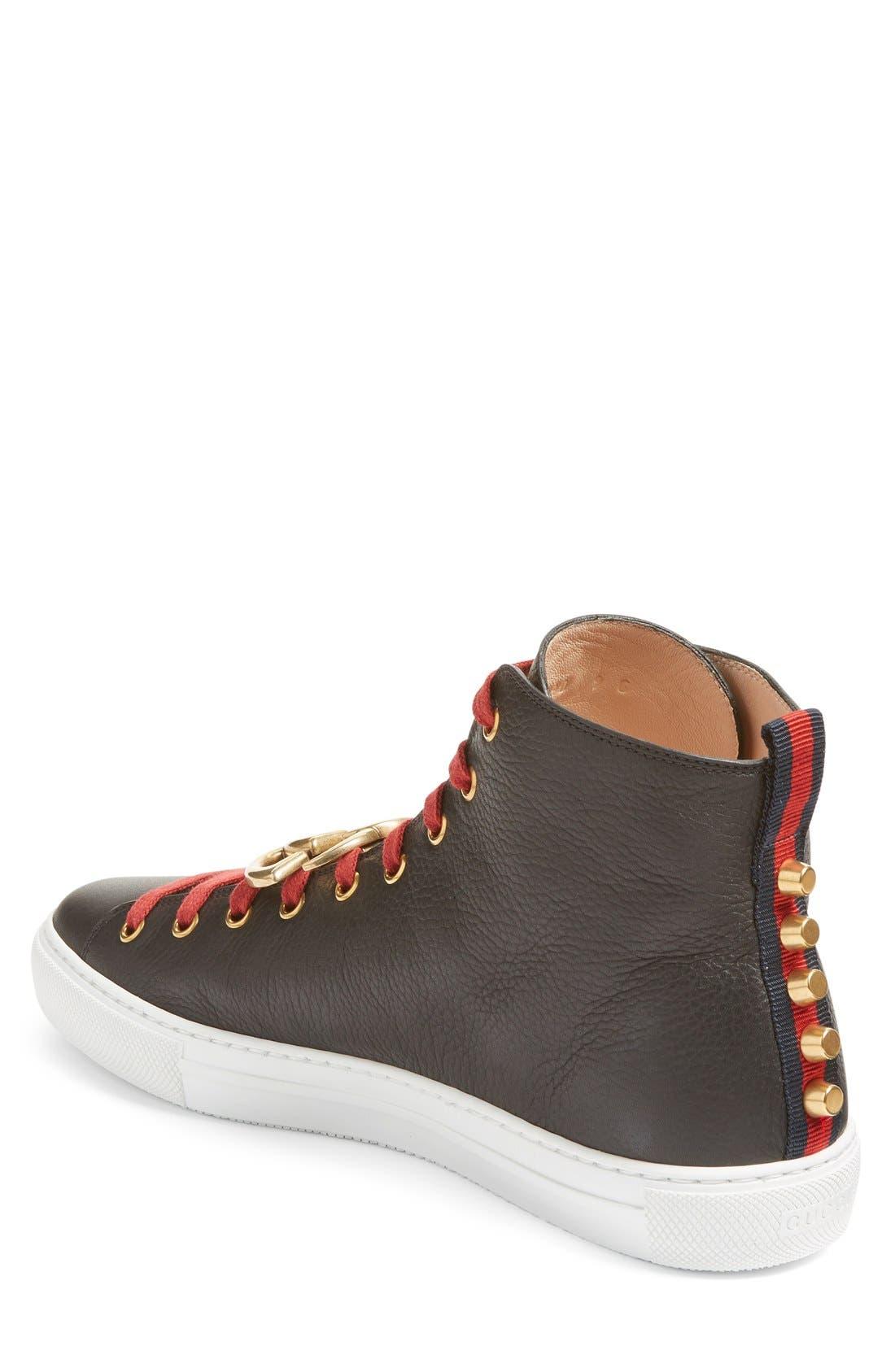Alternate Image 2  - Gucci Major High Top Sneaker (Men)