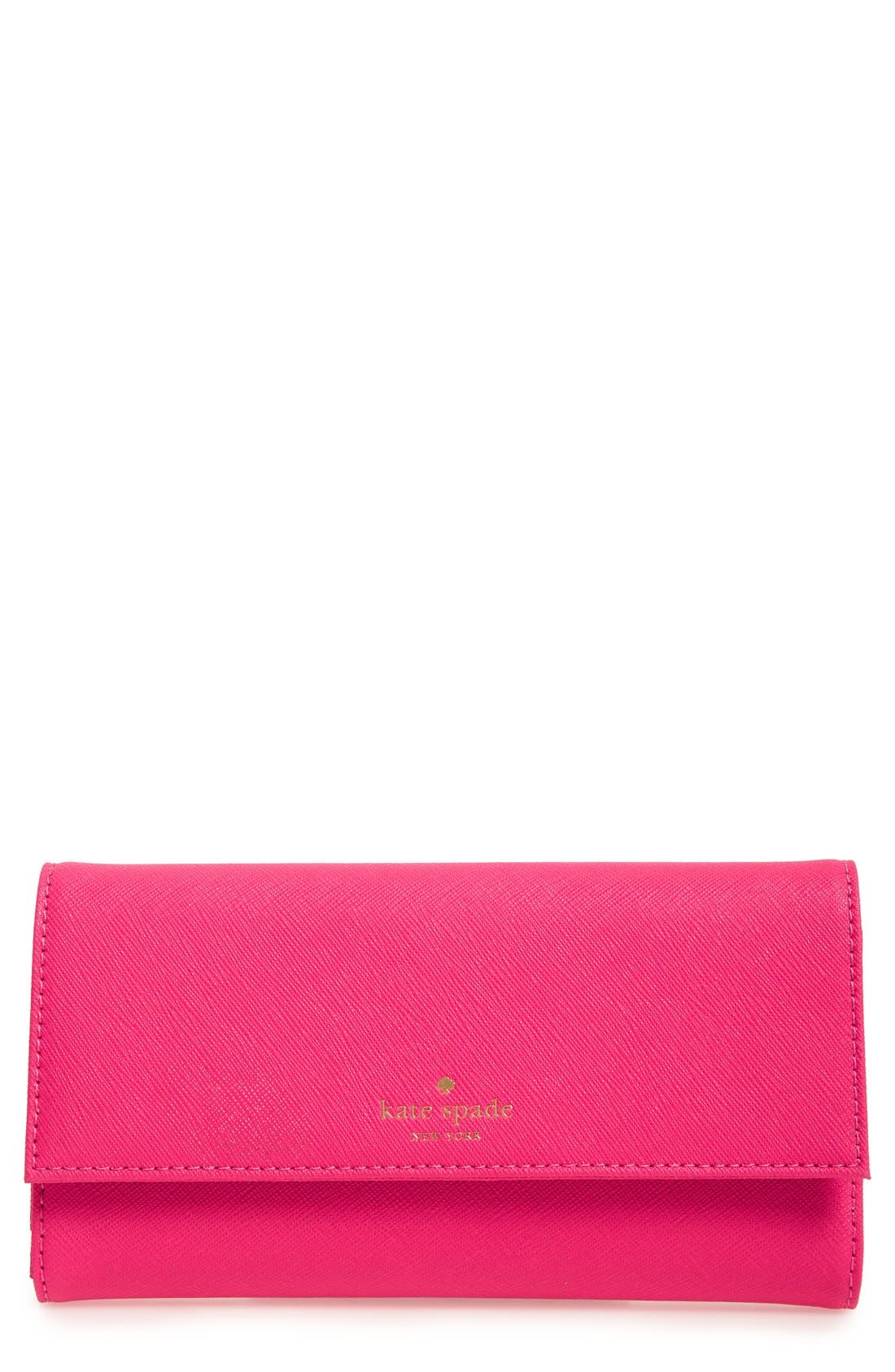 Alternate Image 1 Selected - kate spade new york leather iPhone 7 & 7 Plus wallet