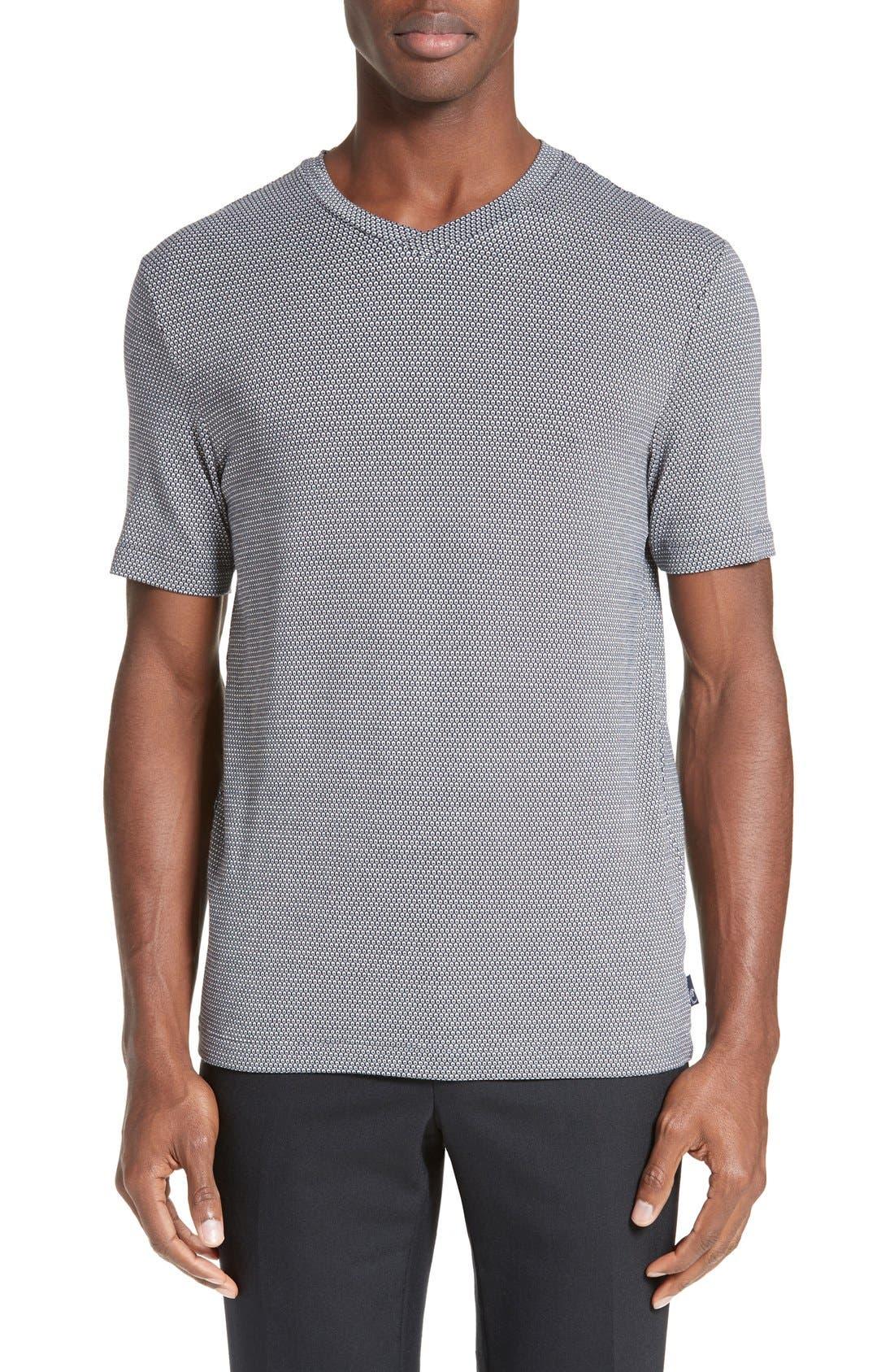 ARMANI COLLEZIONI Jacquard T-Shirt