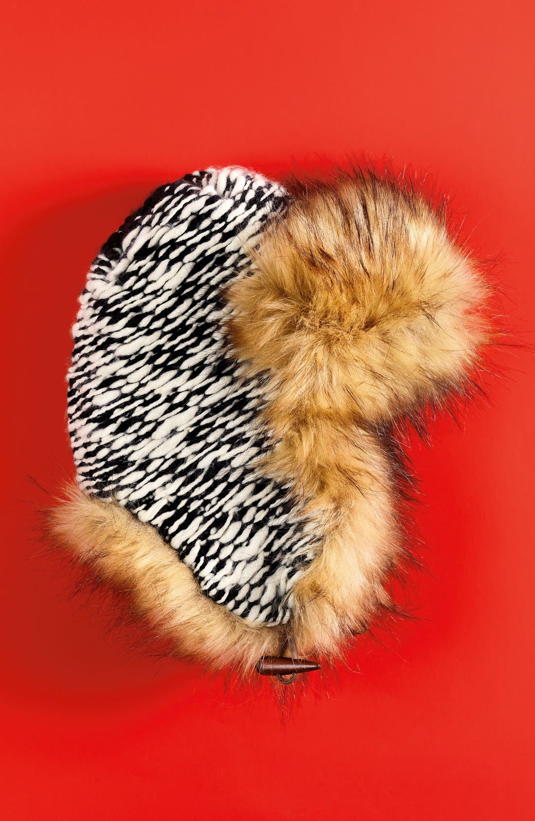 Alternate Image 3  - Free People Wild Things Faux Fur Trapper Hat