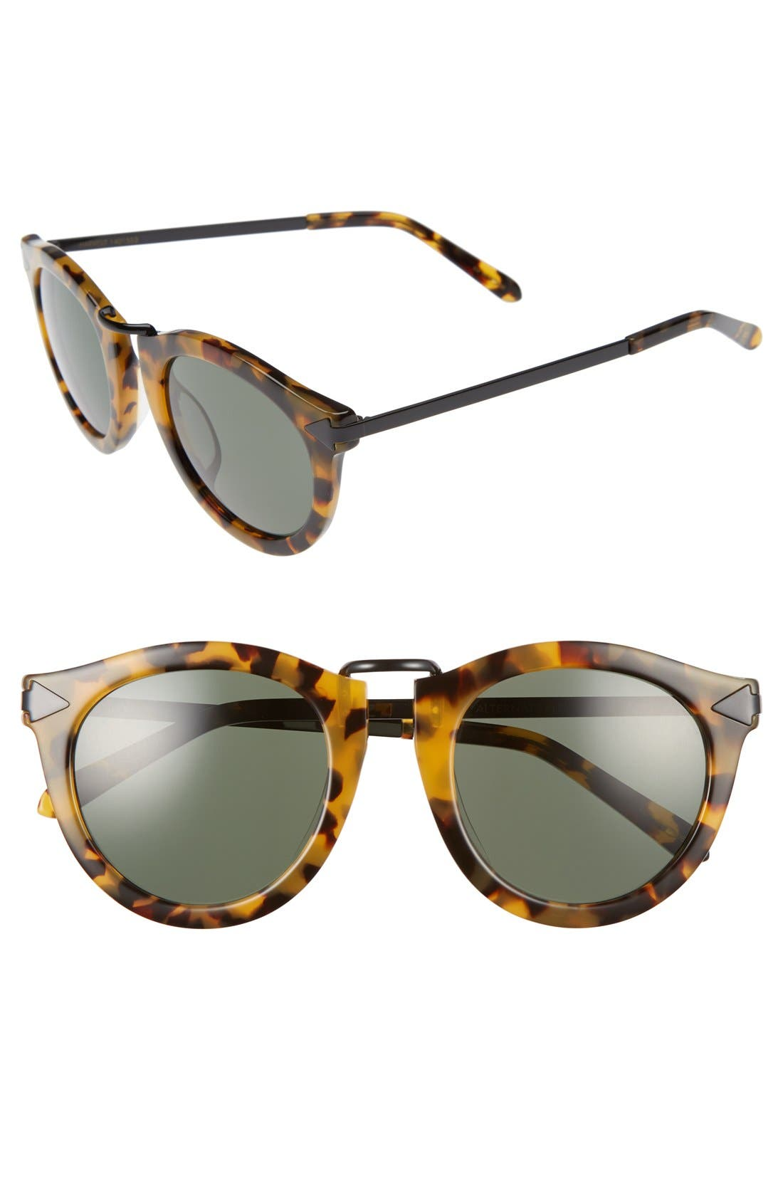 Main Image - Karen Walker Alternative Fit Harvest 59mm Retro Sunglasses